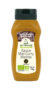 Sauce miel et curry Bio (200g) (4654118240341)