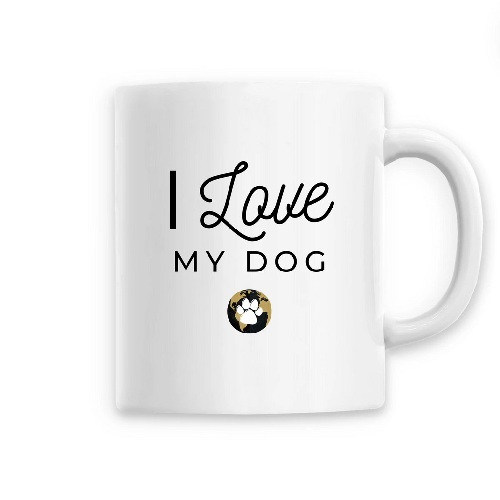Mug I Love My Dog Worldchien™