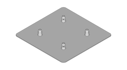 TL-3004-500  Base Plate for TL34 MALE