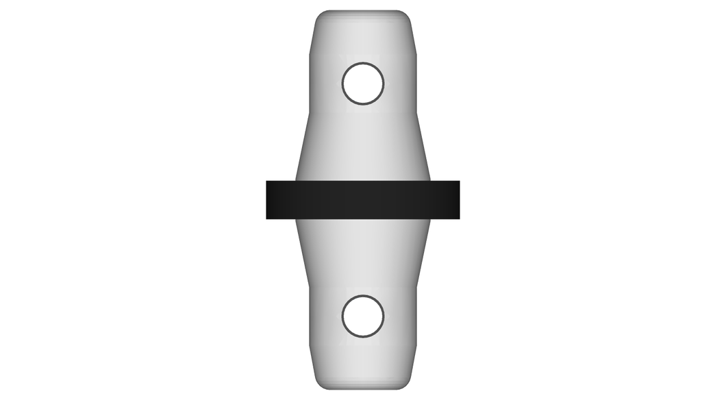 TLB-3102 Male Spacer 10mm.