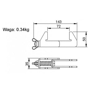 SL-SCD-01 Stage assembly clamp