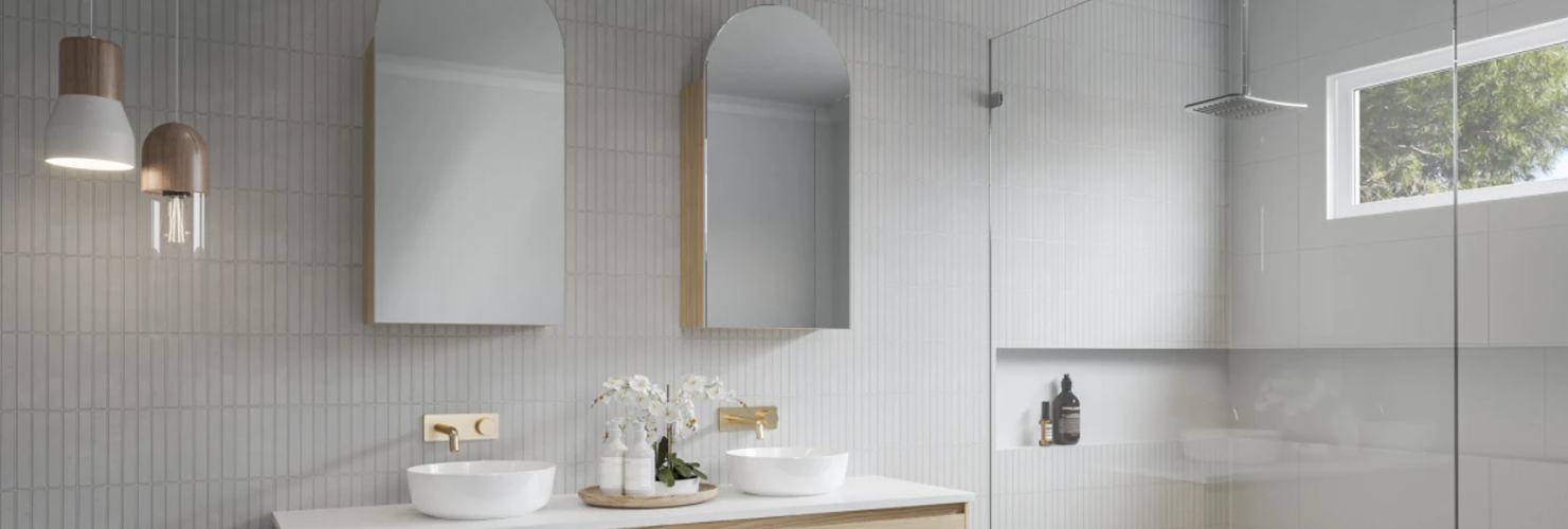 How to choose the perfect cabinet with mirror for your bathroom
