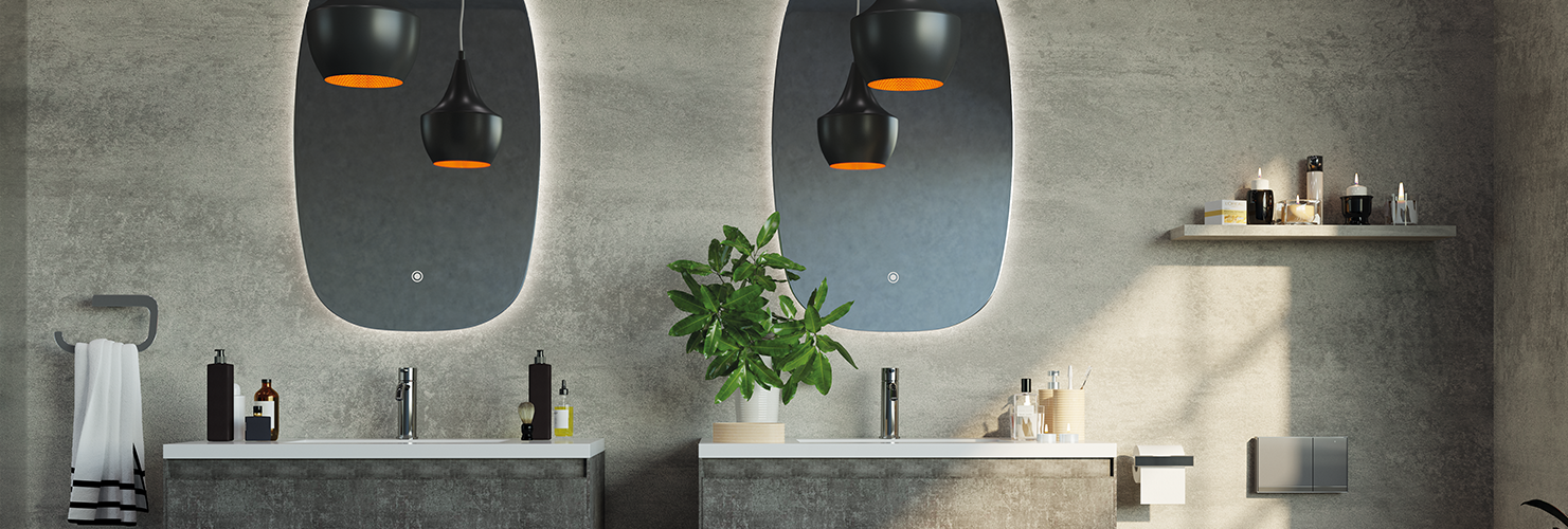 What to consider when installing a round bathroom mirror