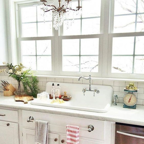 Cast Iron Kitchen Sink