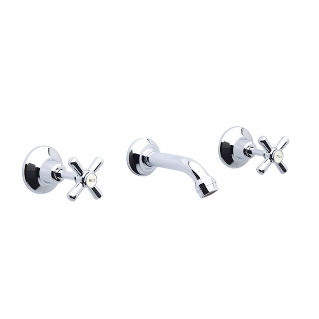 Whitehall Chrome EZY Clean Bath Set
