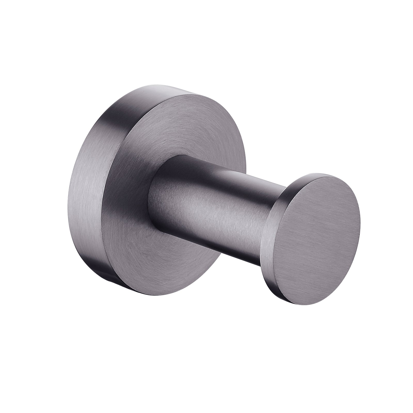 Pentro Gun Metal Grey Round Robe Hook