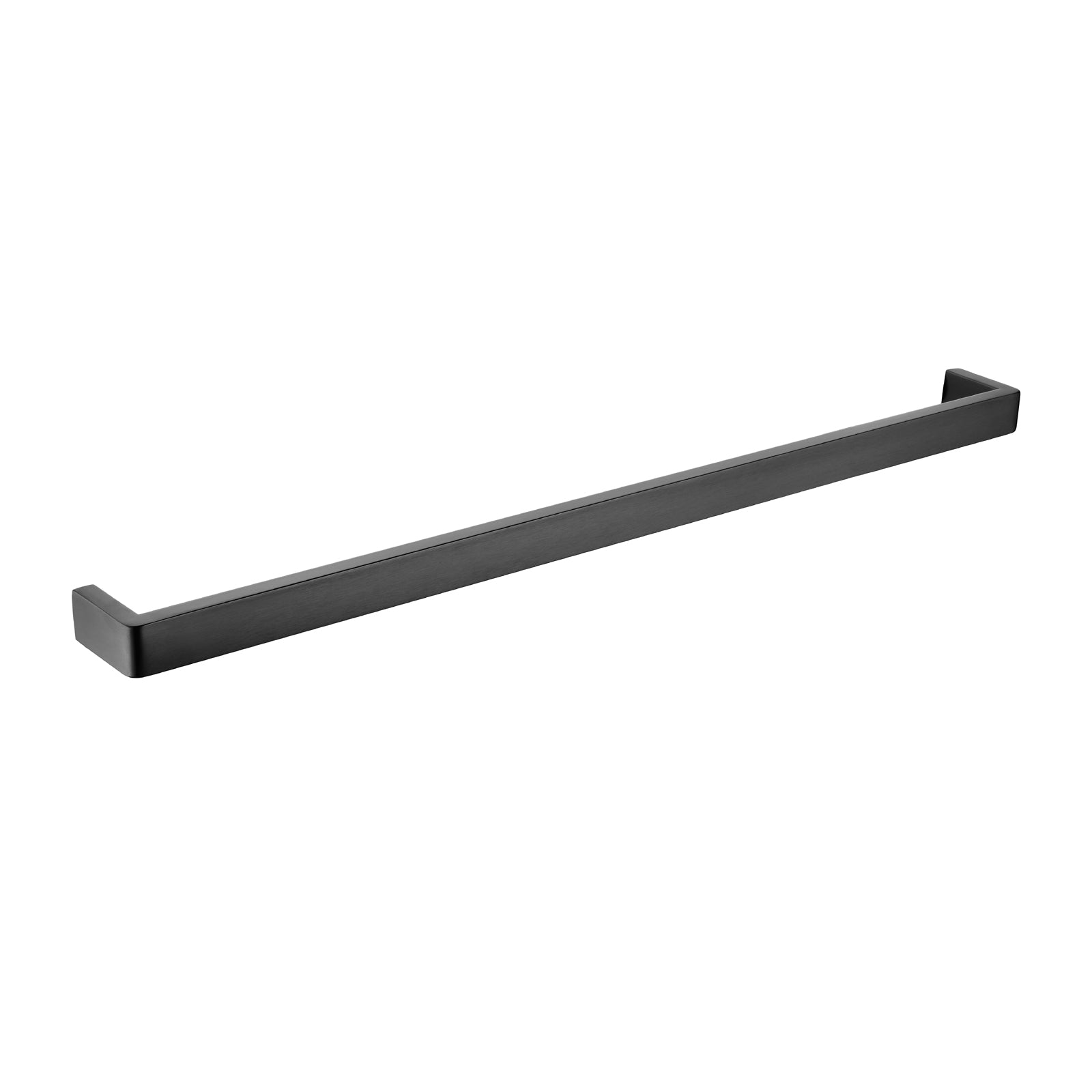 Cavallo Gun Metal Grey Square Single Towel Rail 800mm