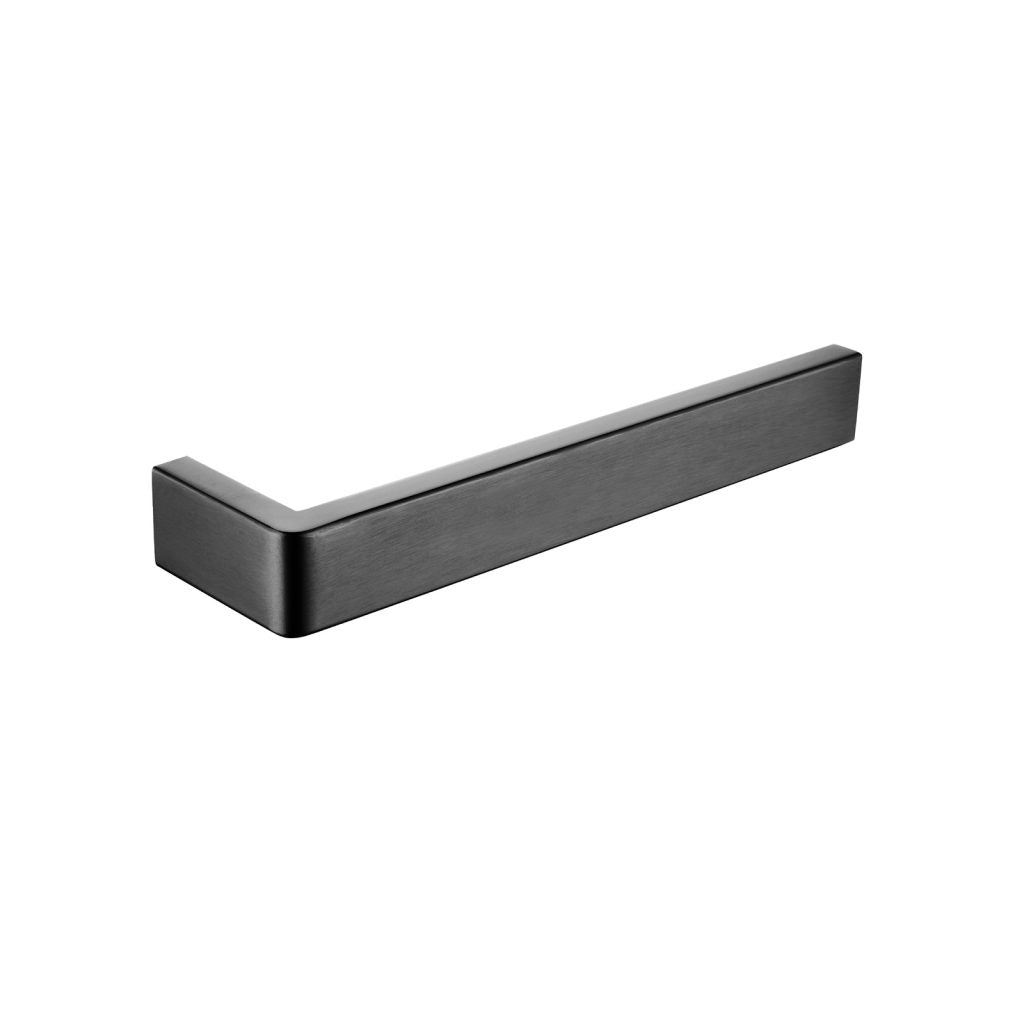 Cavallo Gun Metal Grey Square Towel Bar 200mm
