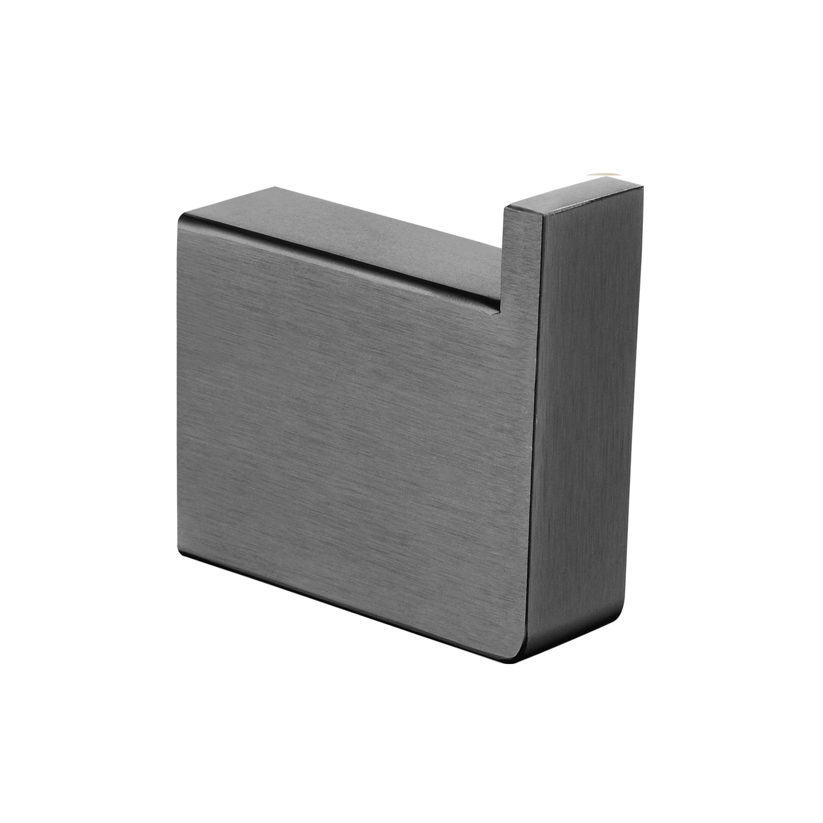 Cavallo Gun Metal Grey Square Robe Hook
