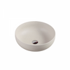 ASTI Round Counter Top Basin Matte White 350mm