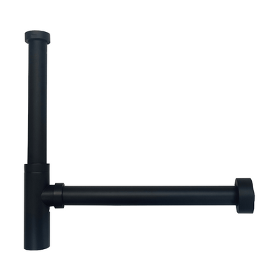 Vertical Extension Pipe for AU4040 Bottle P Trap - Matte Black