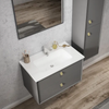 Inspire Bathware BOSTON Wall Hung Vanity 900mm Matte Grey