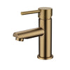Norico Pentro Brushed Yellow Gold Round Basin Mixer