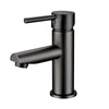Pentro Gun Metal Grey Round Basin Mixer