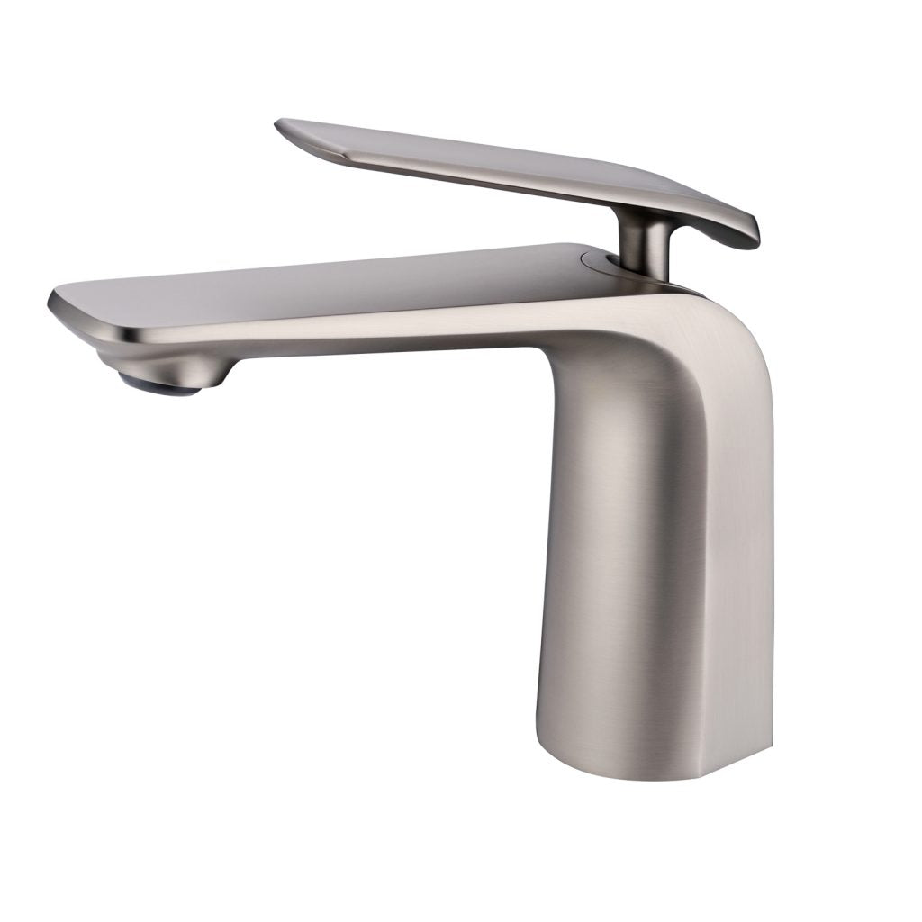 Norico Esperia Brushed Nickel Basin Mixer