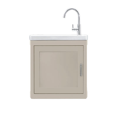 BURNLEY 500x260 Room Basin & Vanity Unit Cream