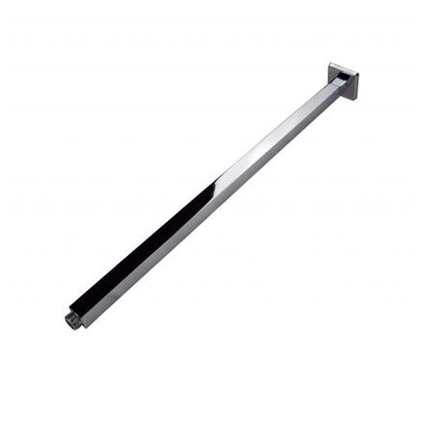 BLAZE Square Chrome Ceiling Shower Arm 600mm