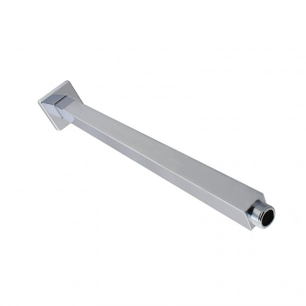 BLAZE Square Chrome Ceiling Shower Arm 400mm