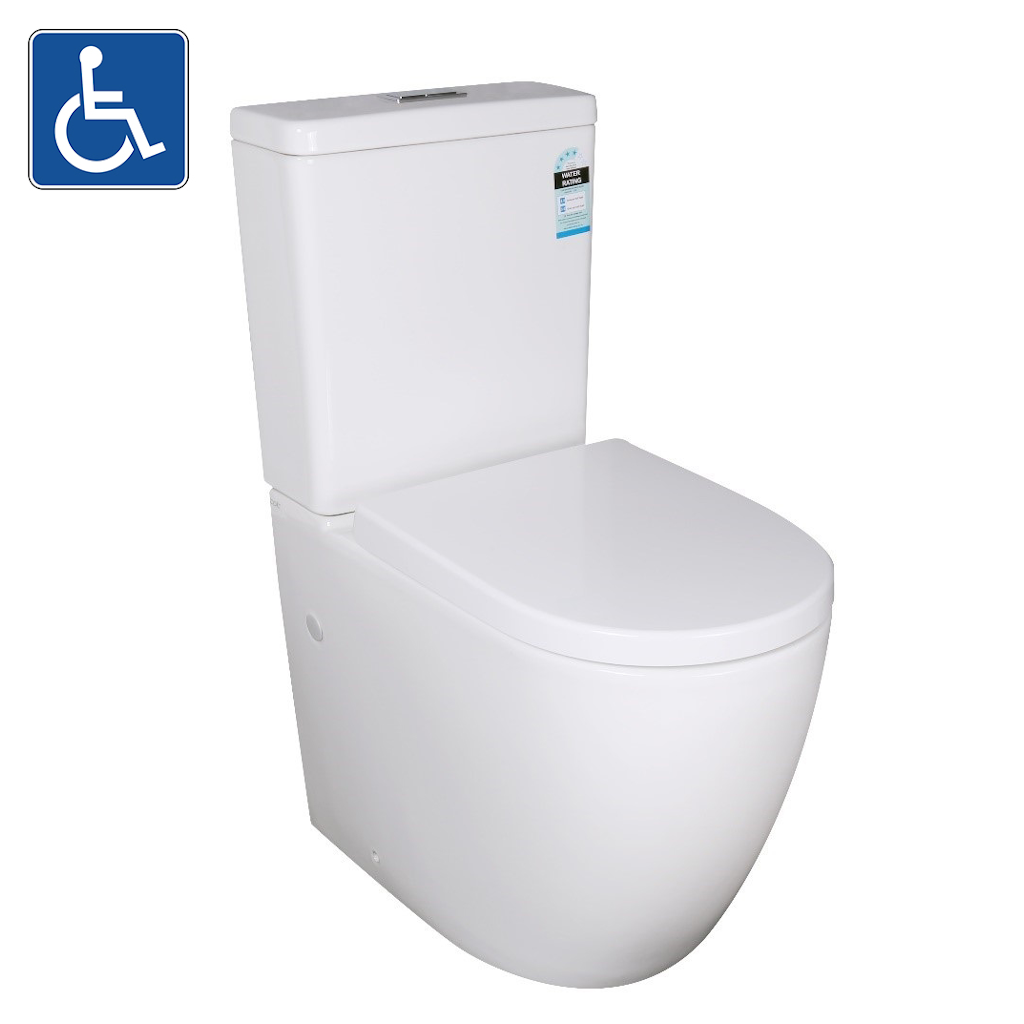 ELVERA Tornado Ambulant Toilet Suite White