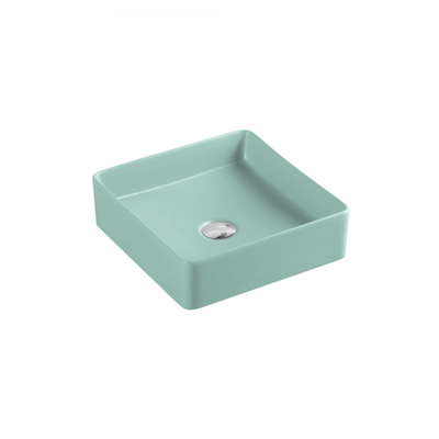 ETNA Square Counter Top Basin Antique Green 360mm
