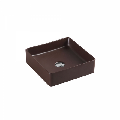 ETNA Square Counter Top Basin Cappuccino 360mm