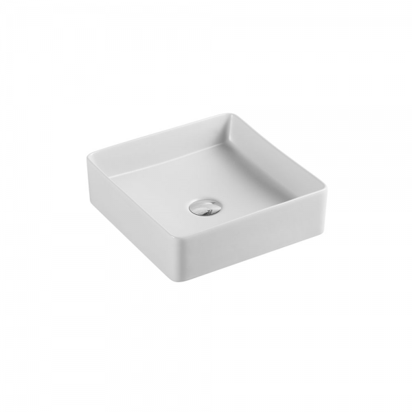 ETNA Square Counter Top Basin White 360mm