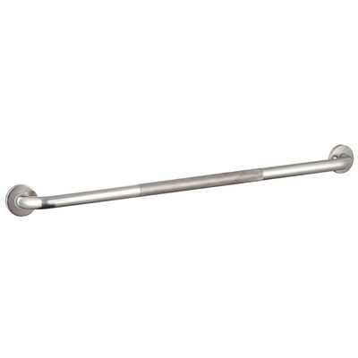 Grab Rail 900mm Knurled Stainless Steel