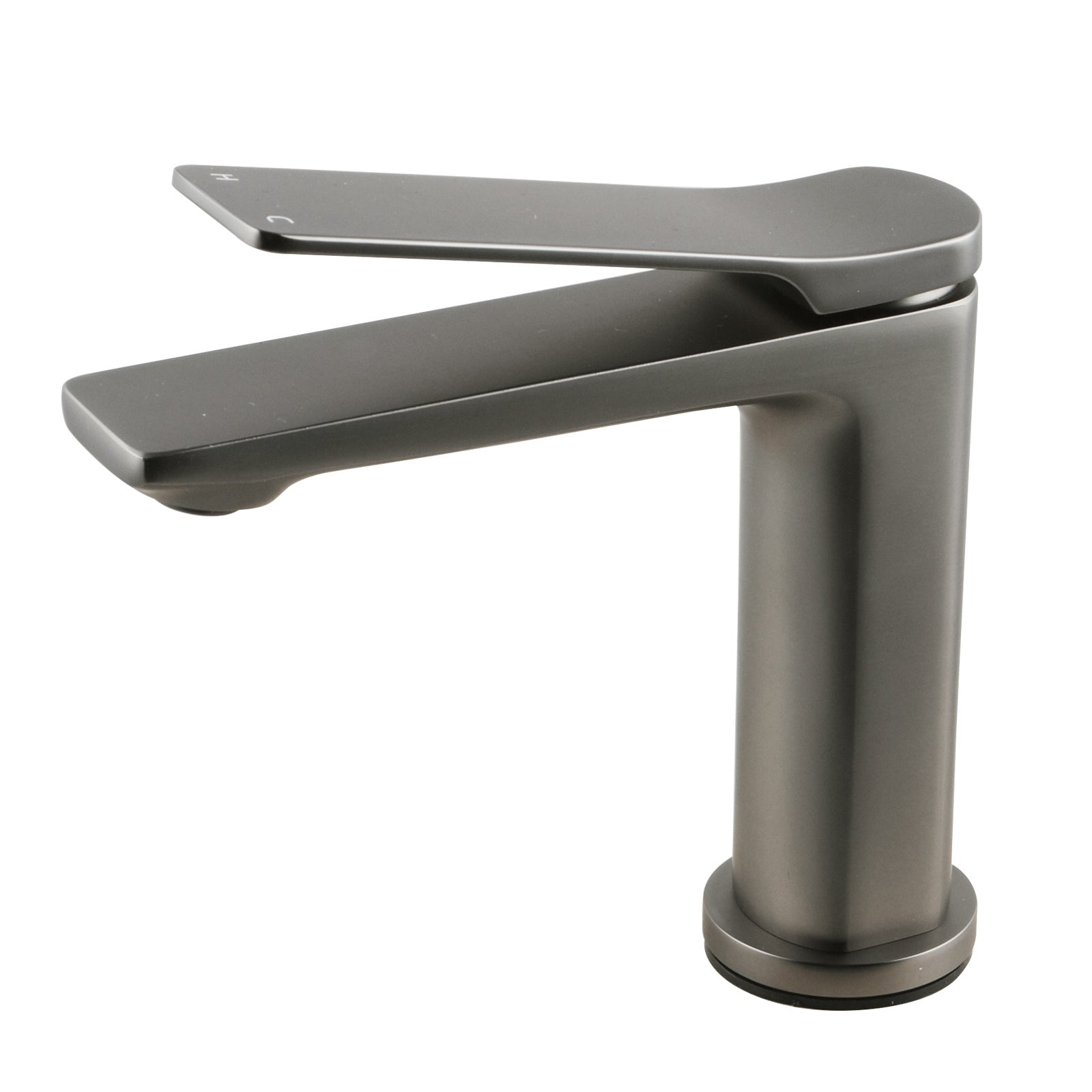 RUSHY Gun Metal Grey Basin Mixer