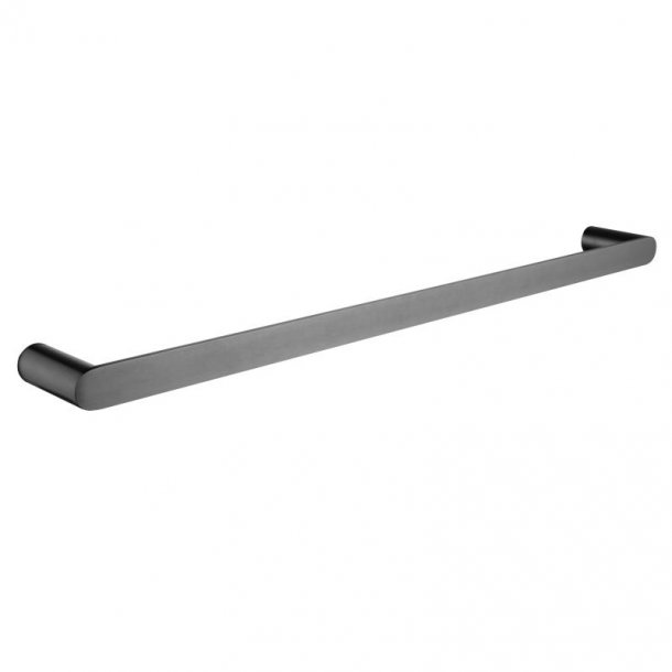 RUSHY Gun Metal Grey Single Towel Rail 600mm