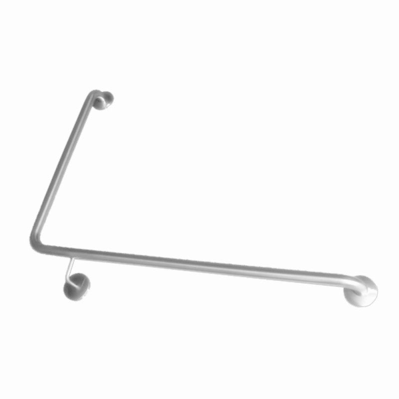 32mm Grab Rail 90 degrees Right Hand 950x600mm Stainless Steel