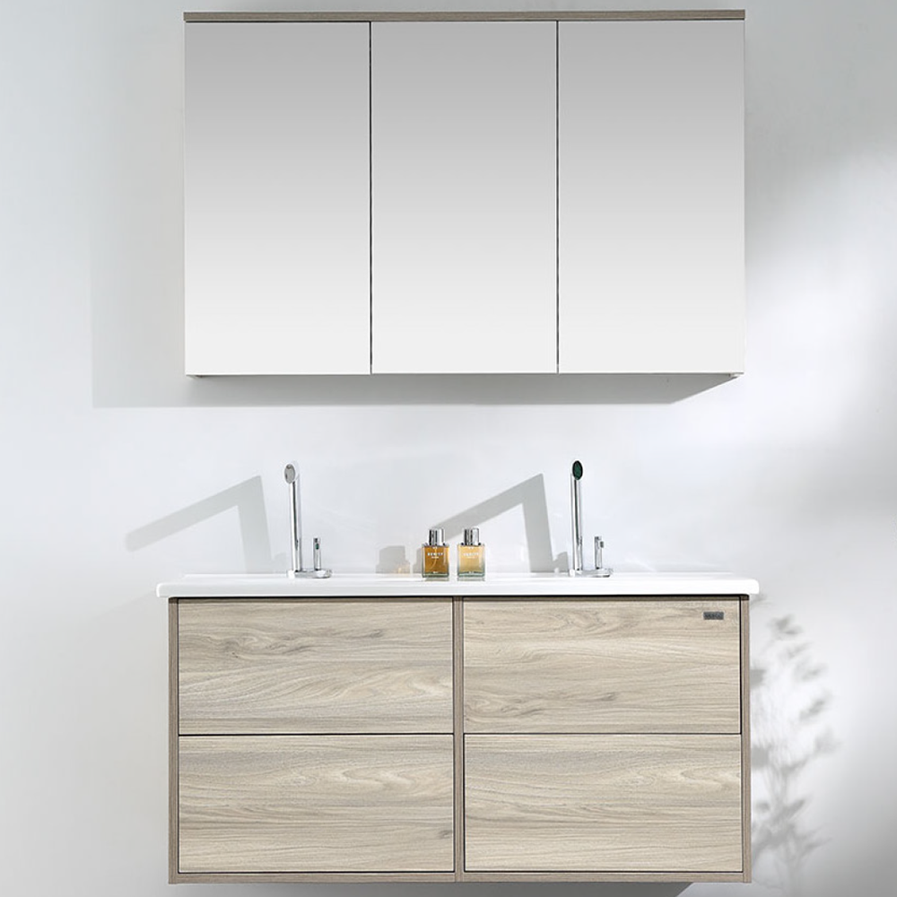 Merico GARGANO Wood Grain Wall Hung Vanity 1200mm