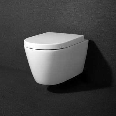 ZUNI & OTTO+ Wall Hung Toilet Pan with Wall Hung Cistern and Frame Package