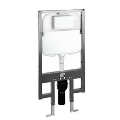 Dexter+ In wall toilet cistern with frame