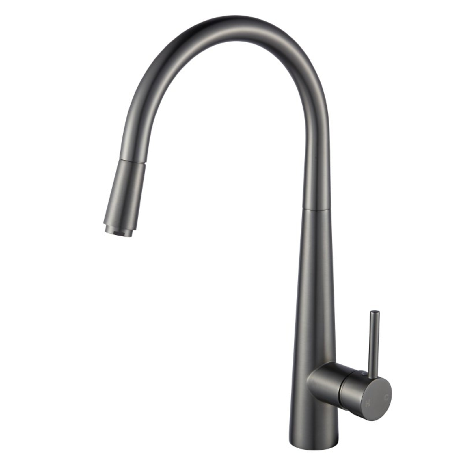 Pentro Gun Metal Grey Pull Out Kitchen Mixer