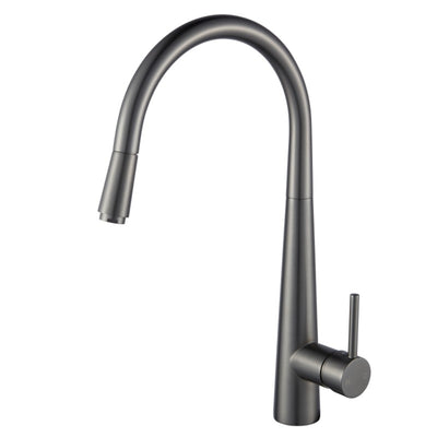 Norico Pentro Gun Metal Grey Pull Out Kitchen Mixer