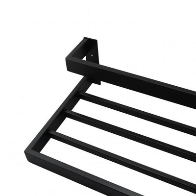SERA Black Double Towel Holder 600mm