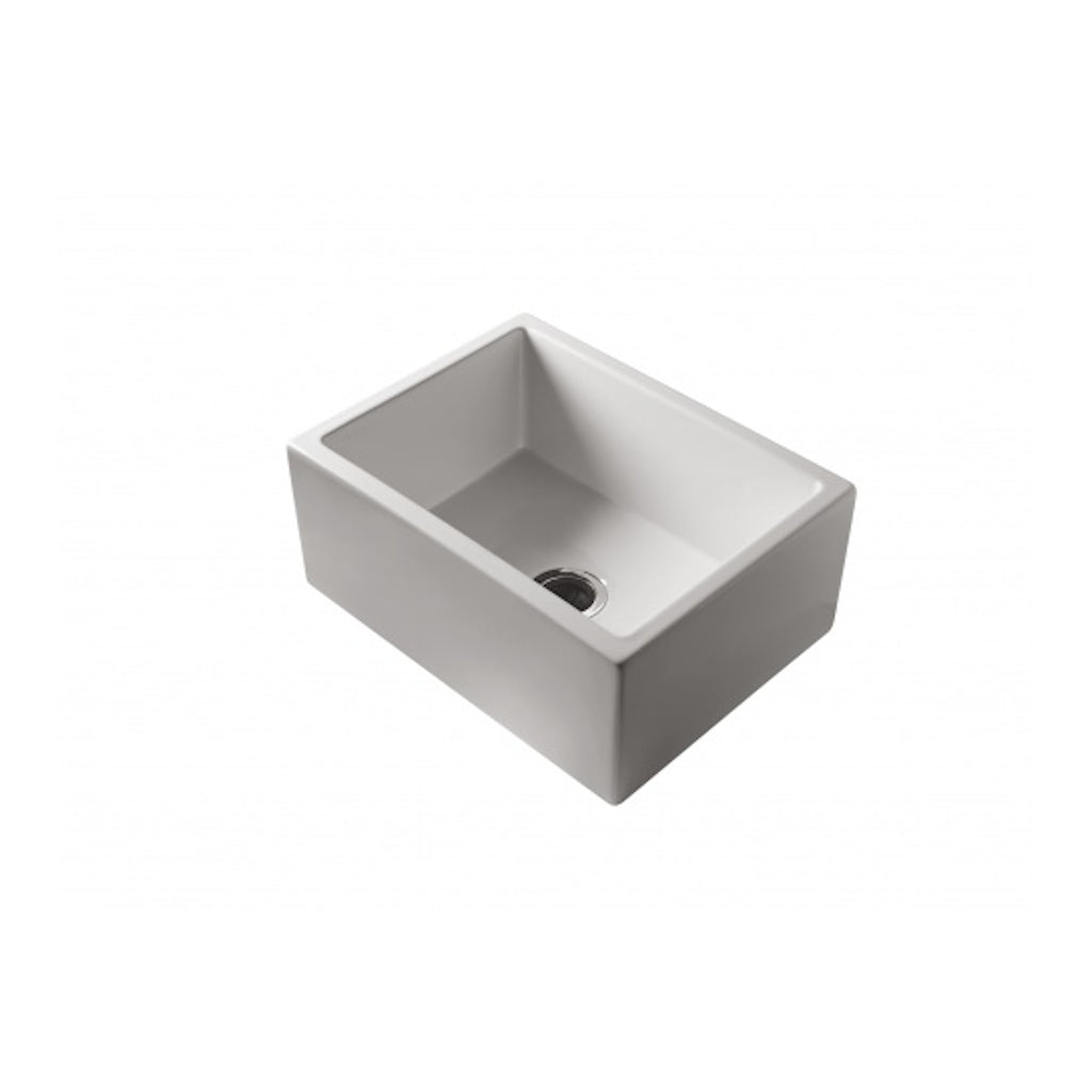 PATRI 600x470 Fine Fireclay Single Bowl Butler Sink