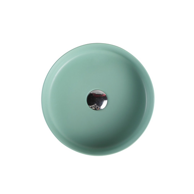 SASSO Round Counter Top Basin Antique Green 350mm