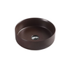 SASSO Round Counter Top Basin Cappucino 350mm