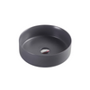 SASSO Round Counter Top Basin Nero Grey 350mm