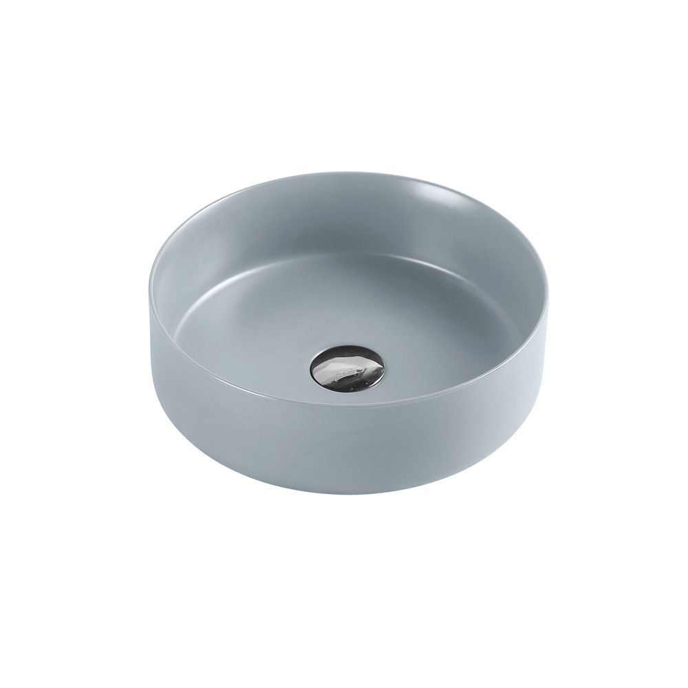 SASSO Round Counter Top Basin Tango Grey 350mm