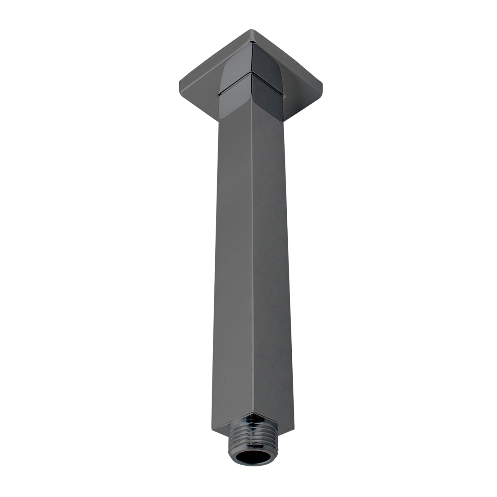 Cavallo Gun Metal Grey Square Ceiling Shower Arm 200mm