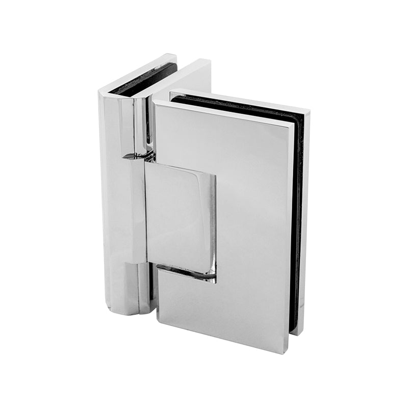 Shower Screen Hinge - 90° Glass to Glass Mirror