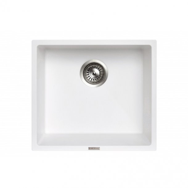 CARYSIL MAGIC SALSA White Granite Kitchen Sink 457x406mm