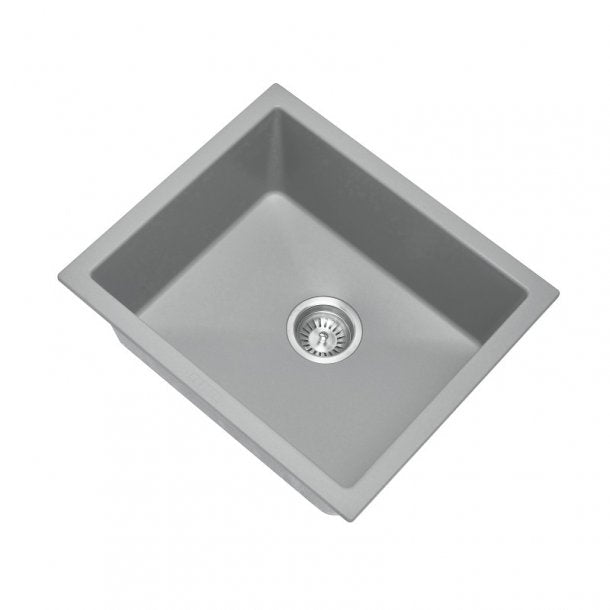 CARYSIL SALSA Grey Granite Kitchen Sink 533x457mm