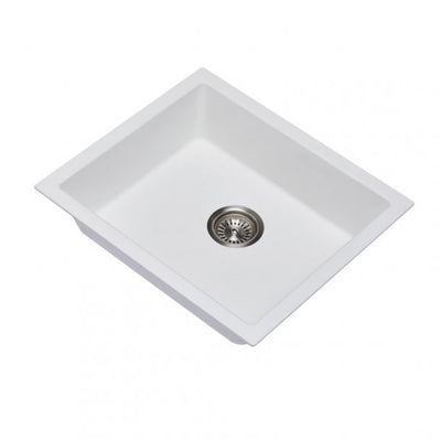 CARYSIL SALSA White Granite Kitchen Sink 533x457mm