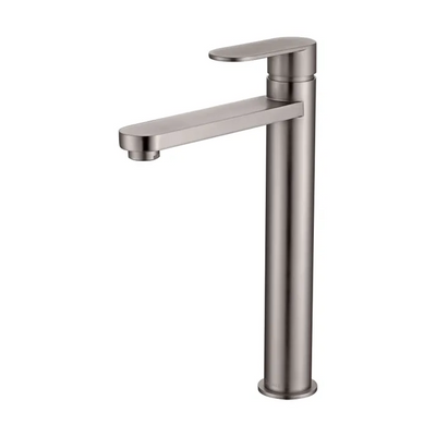 Inspire Bathware VETTO Tall Basin Mixer Brushed Nickel