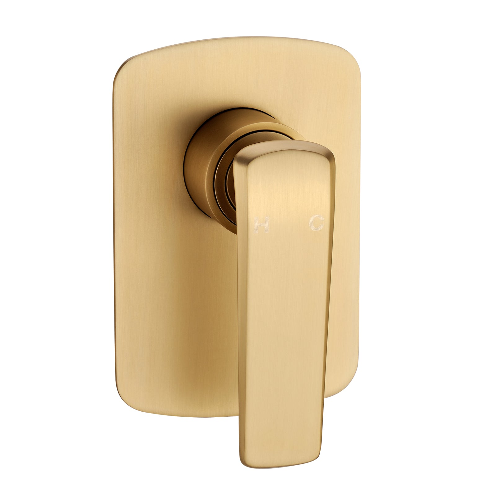 Norico Esperia Brushed Yellow Gold Wall Mixer