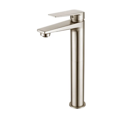 Inspire Bathware ZEVIO Tall Basin Mixer Brushed Nickel