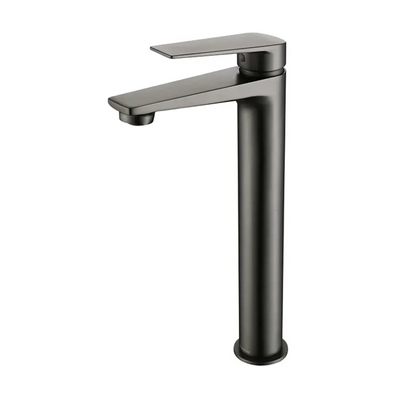 Inspire Bathware ZEVIO Tall Basin Mixer Gun Metal